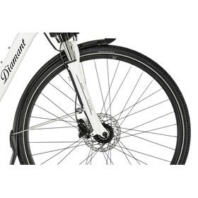 Diamant Ubari Super Deluxe Trekkingcykel Dam Mono vit